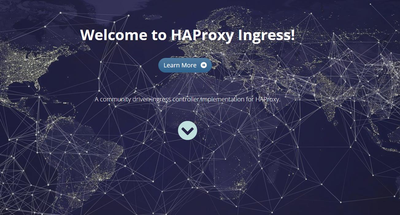 HAproxy Ingress简介