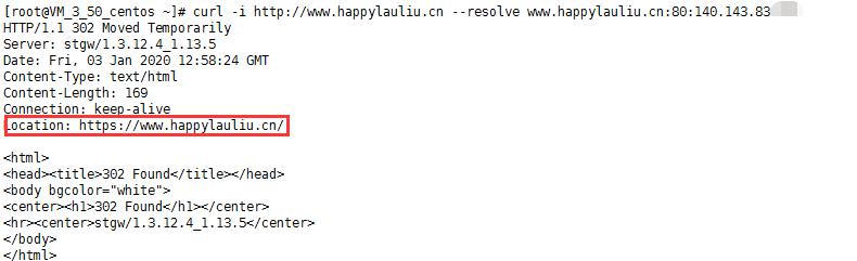 http自动跳转测试